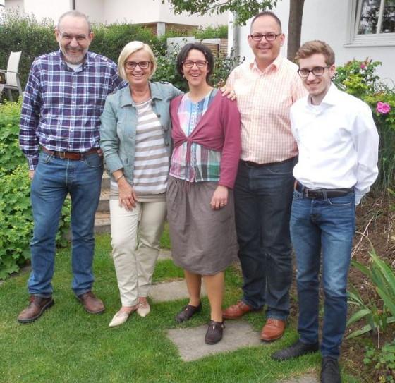 Die neue SPD-Fraktion: Bernd Wetzka, Cornelia Bär-Stoll, Julia Laras, Alexander Bergtold und Pascal Weyhing